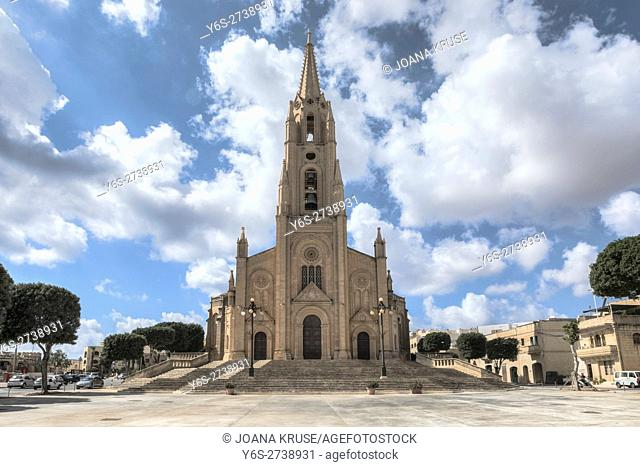Ghajnsielem Parish Church, Gozo, Malta