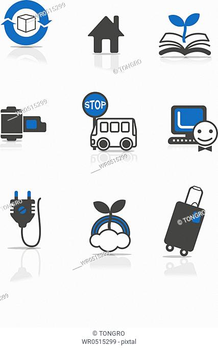 various types of icons