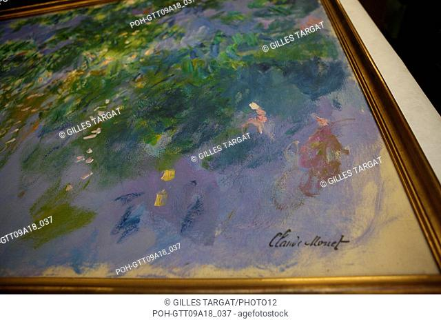 tourism, France, upper normandy, eure, vallee de la seine, valley, giverny, musee des impressionnismes, formerly american art museum, restauration studio