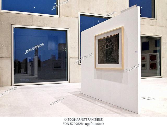 Exhibition, Zollverein cube, Essen, Germany