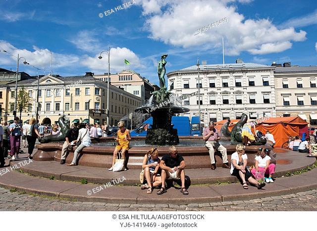 Havis Amanda Statue Helsinki Finland
