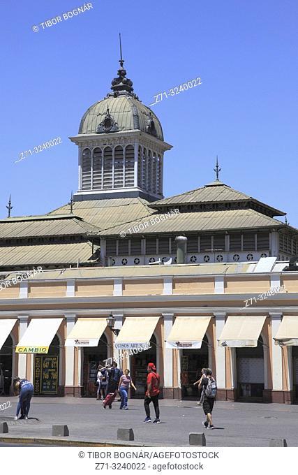 Chile, Santiago, Mercado Central, market,
