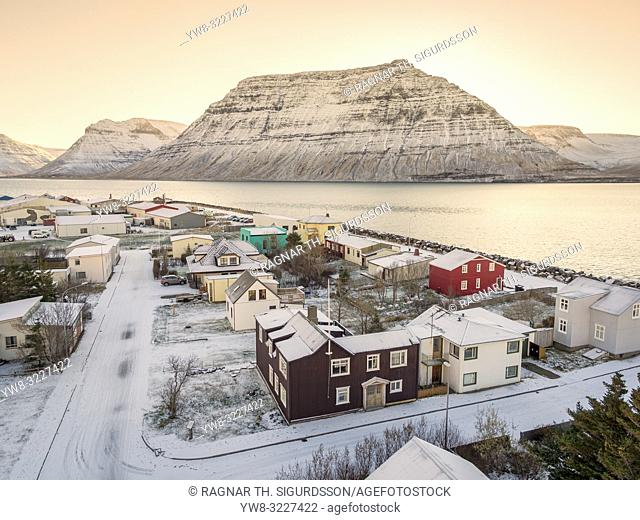 Winter, Flateyri, West Fjords, Iceland