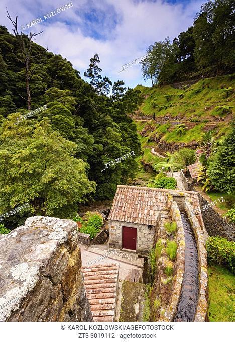Ribeira dos Caldeiroes Natural Park, Nordeste, Sao Miguel Island, Azores, Portugal
