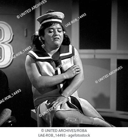 Musik aus Studio B, Musiksendung, Deutschland 1965, Gaststar: Trude Herr