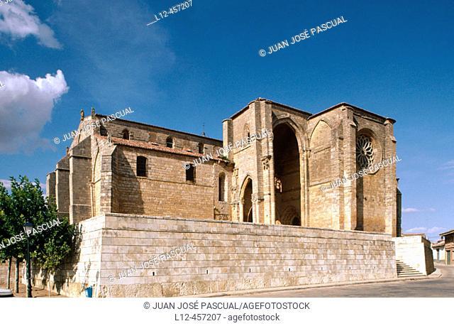 Church of Santa María la Blanca (13th century), Villarcázar de Sirga. Palencia province, Castilla-León, Spain