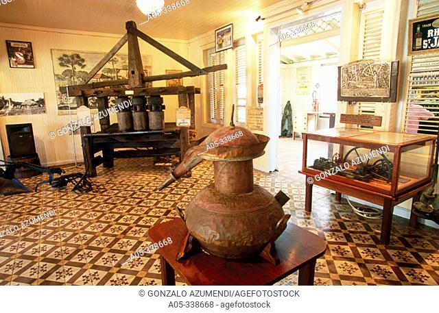 Rum Saint James Museum. Sainte Marie. Martinique. French Antilles