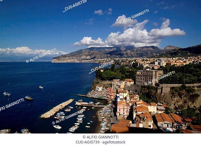 Marina Grande, ancient village by the sea, Sorrento, Campania, Italy, Europe