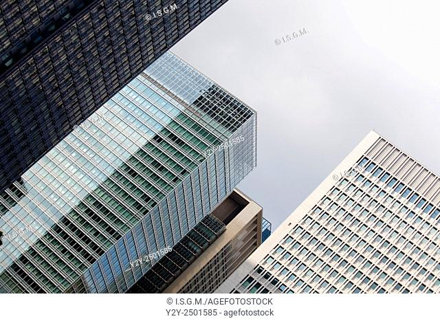 Building in Tokyo, in financial district named Marunouchi, Japan
