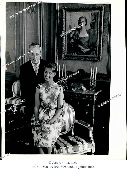 1968 - Princess Birgitta of Sweden - Prepares for Her Marriage.. New picture taken specially in honour of the forthcoming marriage of Princess Birgitta of...