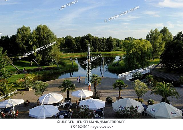 cbad8e9c8e0c42 Britzer garten garden in berlin Stock Photos and Images