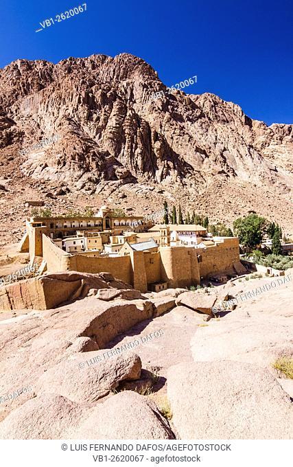 Saint Catherine's Monastery. Sinai, Egypt