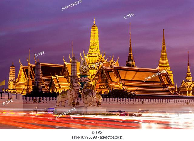 Thailand, Bangkok, Grand Palace, Wat Phra Kaeo