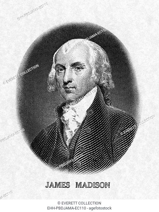 US Presidents. US President James Madison