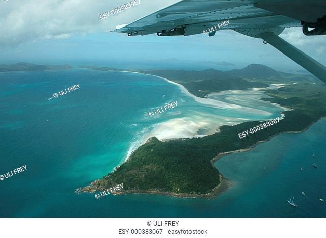 Insel aus der Luft