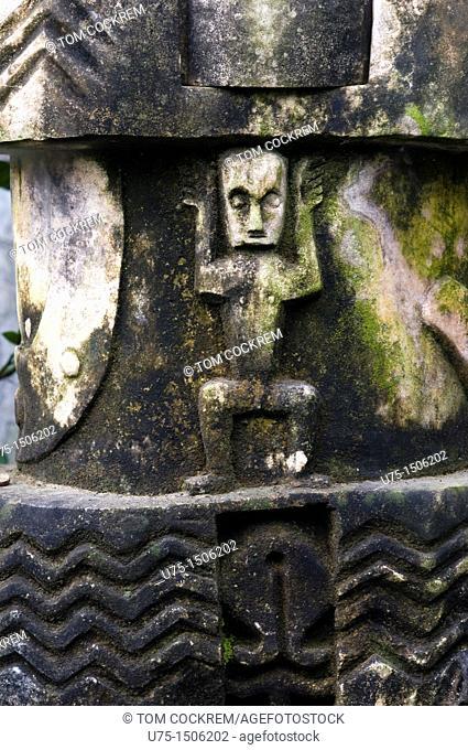 Stone sculpture Craft shop waikabubak sumba indonesia