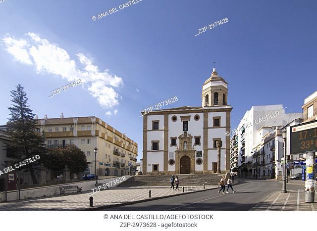 Iglesia de la Merced, church in Ronda, Andalusia, Spain