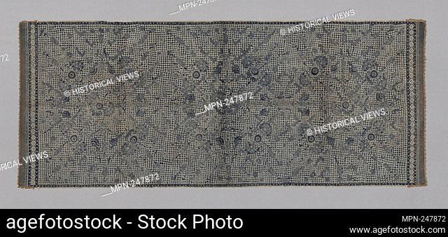 Skirt Cloth (Kain panjang) - Pesisir Indonesia, Central Java, Cirebon - Origin: Java, Medium: Cotton, plain weave; wax resist dyed (batik); edged with...