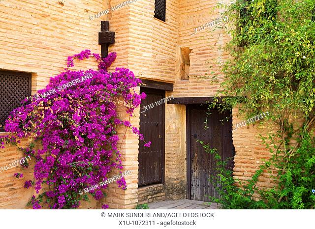 Muslim Houses Partal Alhambra Palace Granada Spain
