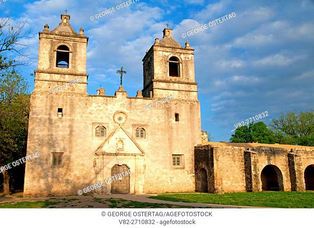 Mission Concepcion, San Antonio Missions National Historical Park, Texas