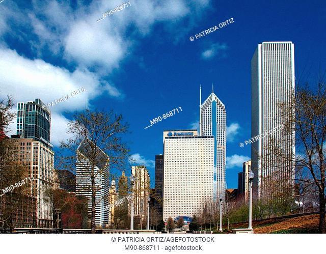 Architecture, Chicago, Illinois, USA
