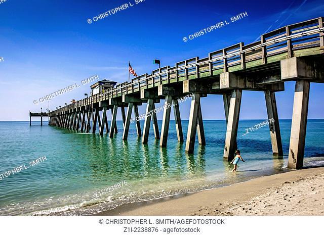 Venice beach pier in Florida