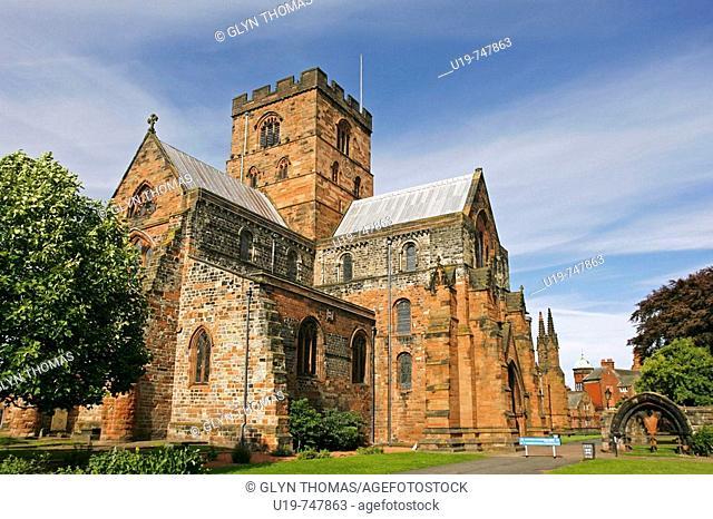 Carlisle Cathedral, Carlisle, Cumbria, England, UK