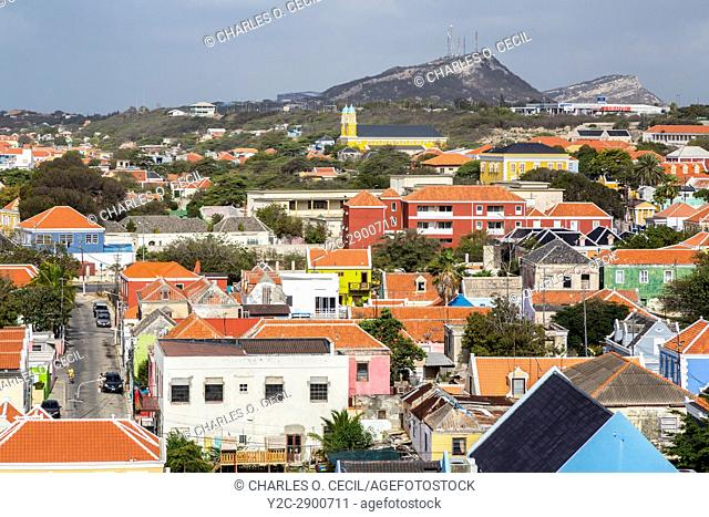 Willemstad, Curacao, Lesser Antilles. City View