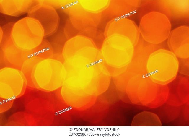 big dark red,yellow, brown shimmering Xmas lights