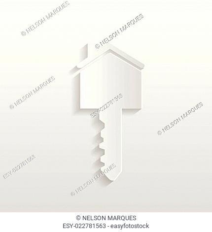 Paper House Key