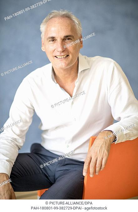 01 August 2018 Germany Gruenheide Kienbaum Frank Kowalski Managing Director Of