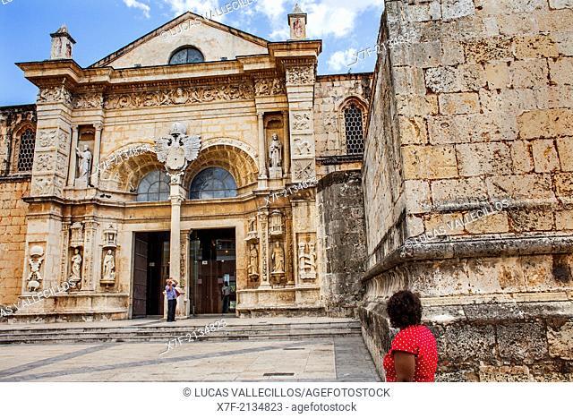 Cathedral of Santa Maria la Menor 1514, UNESCO World Heritage Site, Santo Domingo, Dominican Republic