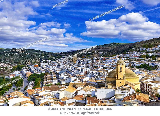 Montefrio, Church of the Incarnation, Washington Irving Route, Granada province, Andalusia, Spain