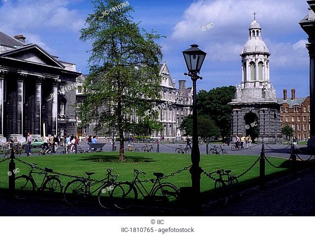 Trinity College, Dublin, Co Dublin, Ireland, College established in the 19th Century