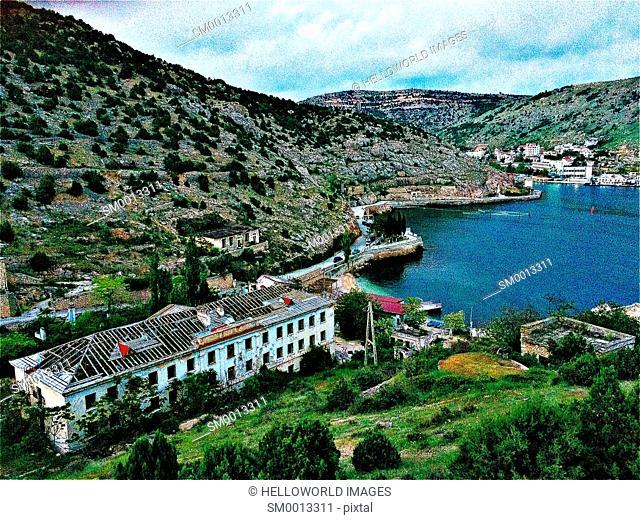 Balaklava Bay, Crimea