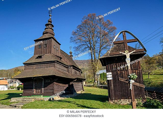 Wooden Church of St. Michael the Archangel - Rusky Potok