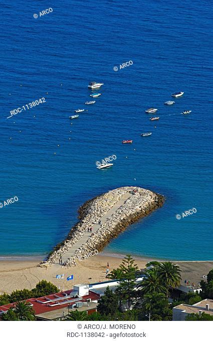 Sesimbra, Setubal district, Serra de Arrabida, Atlantic Ocean, Lisbon coast, Portugal, Europe