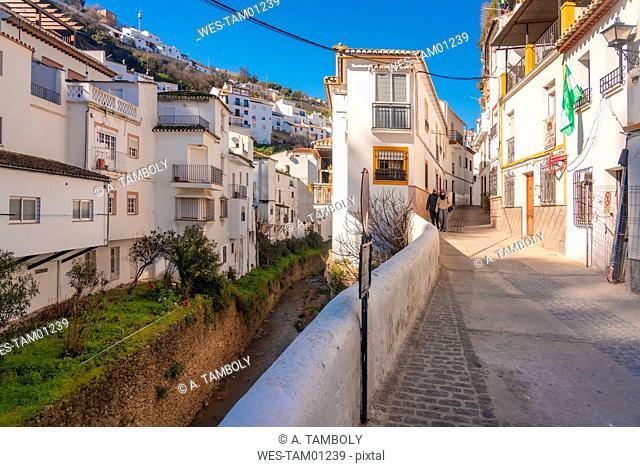 Spain, Andalusia, Province of Cadiz, Setenil de las Bodegas