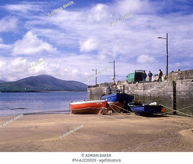 Smerwick harbour on the Dingle Peninsula