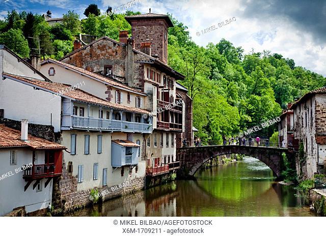 St-Jean-Pied-de-Port  Pyrénées-Atlantiques, France