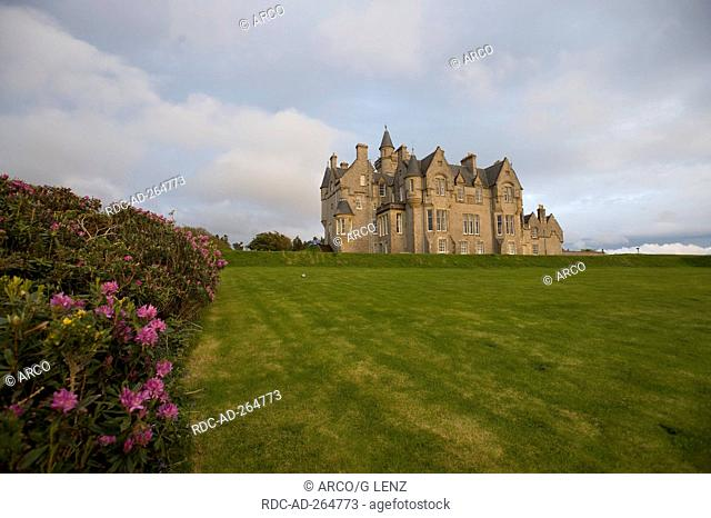Torosay Castle and Gardens, Craignure, Isle of Mull, Scotland