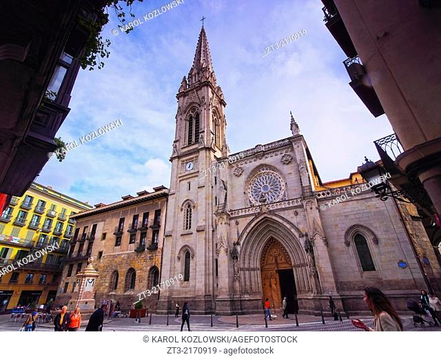 Catedral de Santiago - Cathedral in Bilbao, Biscay, Basque Country, Spain