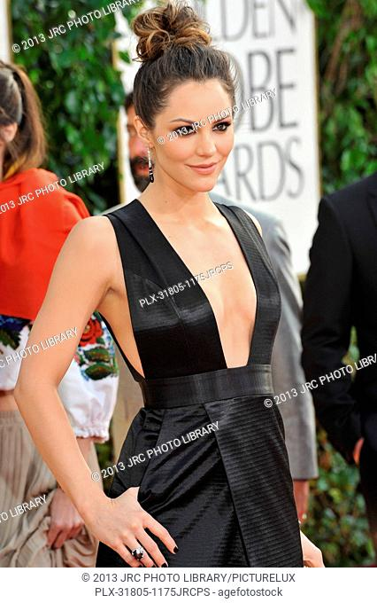 Katharine McPhee at the 70th Golden Globe Awards at the Beverly Hilton Hotel. January 13, 2013 Beverly Hills, CA Photo by JRC / PictureLux