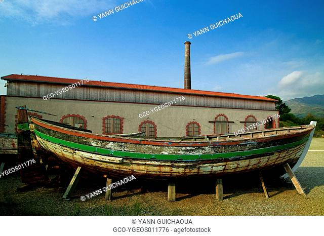 Place of Paulilles, Boat Manufactory, Pyrenees Orientales, France