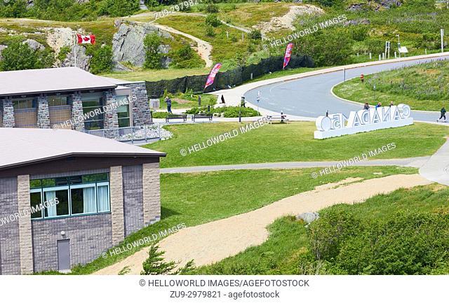 Signal Hill Visitor Centre, St John's, Newfoundland, Canada
