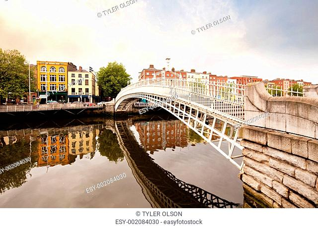 Hapenny Bridge, Dublin Ireland