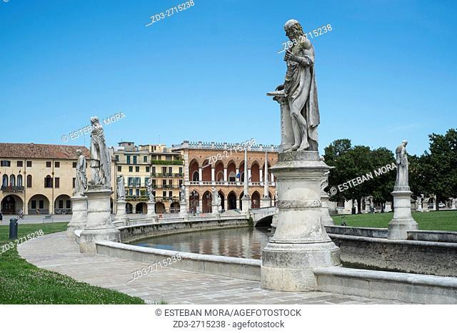 Prato della Valle Square, Padova, Italy