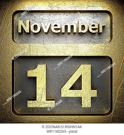 november 14 golden sign