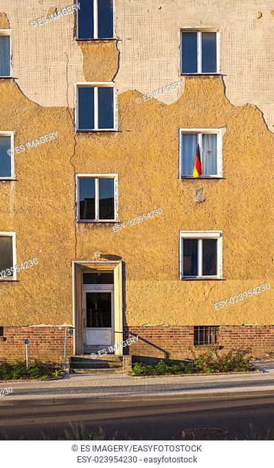 Apartment building in Frankfurt (Oder), Brandenburg (former East Germany)