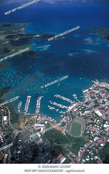 Marin Bay, Martinique, Caribbean
